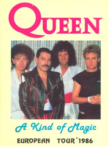 A Kind Of Magic Tourbook Germany 1986