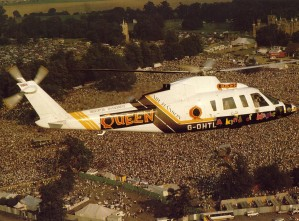 09.08.1986 - Queen At knebworth Park - A Night Of Summer Magic