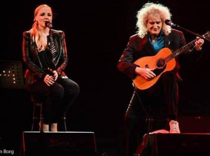 Rock Cellar Magazine intervista Brian May (e Kerry Ellis) - 06.05.2014