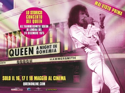 "Queenheaven invite you to ""A Night in Bohemia"""