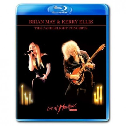 "Brian May & Kerry Ellis ""The Candlelight Concerts – Live At Montreux 2013"""